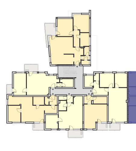 CIII Lépcsőház – 1. Emelet