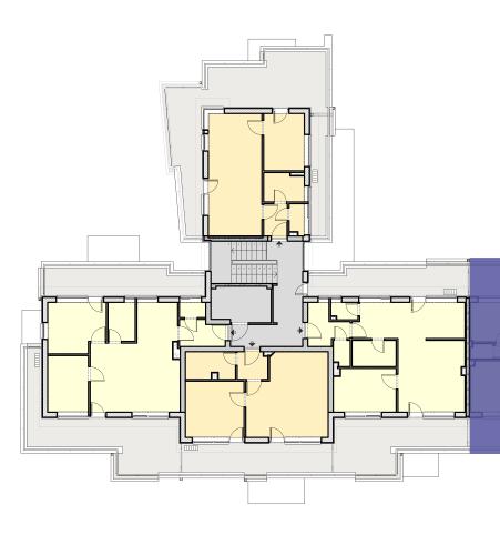 CIII Lépcsőház – 2. Emelet