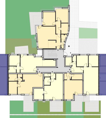 CV Lépcsőház – Földszint
