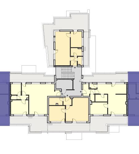 CV Lépcsőház – 2. Emelet