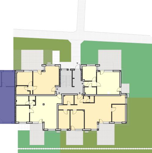 EIV Lépcsőház – Földszint